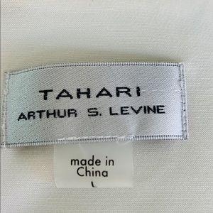 Tahari Tops - Tahari Arthur D Levine Sleeveless Top Cream